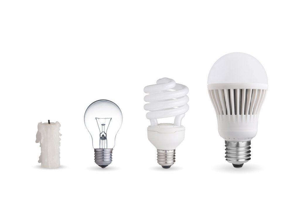 ewolucja oświetlenia